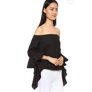 MLM black blouse